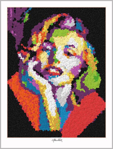 Legokunstwerk, Legokunst, Kunst mit Legosteinen, Art of Brick, Lego Art, Legoart, Legokunst, Bilder aus Legosteinen