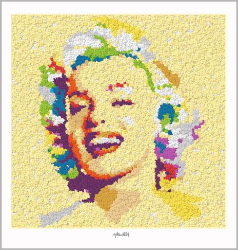 Legoposter, Legokunstwerk, Legokunst, Kunst mit Legosteinen, Art of Brick, Lego Art, Legoart, Legokunst, Bilder aus Legosteinen