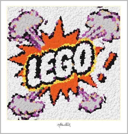 Pop Art, Comic Art, Art of Bricks, Brickart, Kunst mit Lego Steinen, Legokunstwerk, Legokunst, Lego Pop Art, Comic Art, Art of Bricks, Brickart, Kunst mit Lego Steinen, Legokunstwerk, Legokunst, Lego Art, Legoart, Legokunst, Bilder aus Legosteinen