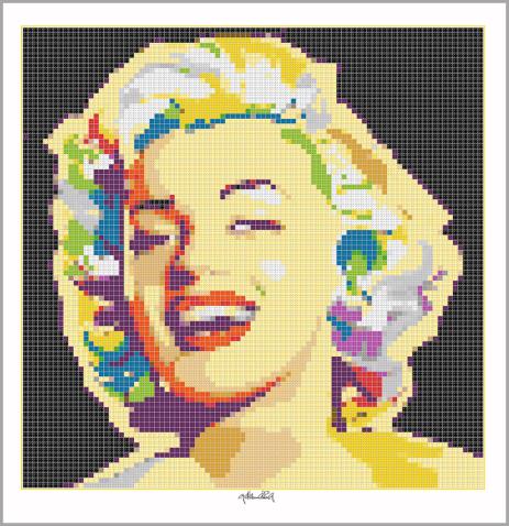 Kunst mit Lego Steinen, Art of Brick, Marilyn Wandbild, Lego Art, Legoart, Legokunst, Kunst mit Legosteinen, Art of Brick, Marilyn Wandbild, Lego Art, Legoart, Legokunst, Kunst mit Legosteinen, Art of Brick, Portrait Marilyn Monroe