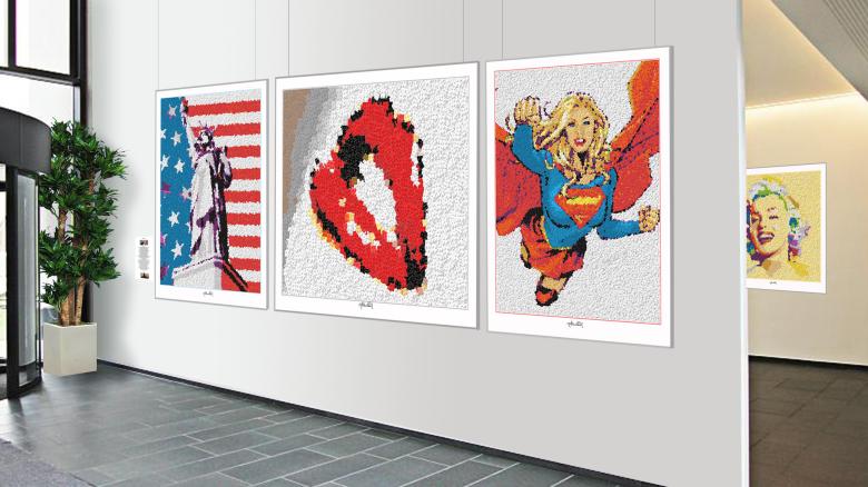 Kunstausstellung LEGO
