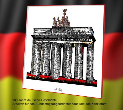 Brandenburger Tor - Deutsche Geschichte