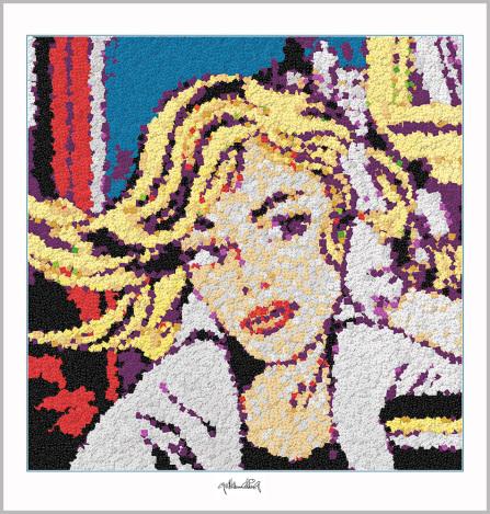 Legokunstwerk, Legokunstwerk, Legokunst, Kunst mit Legosteinen, Art of Brick, Lego Art, Legoart, Legokunst, Bilder aus Legosteinen