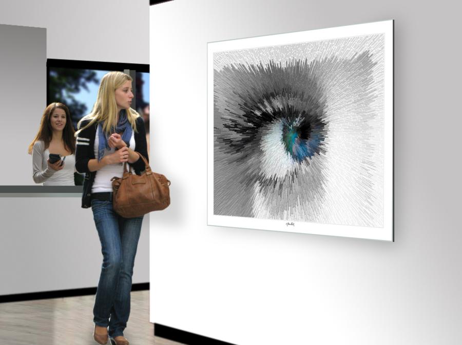 Kunst Augenpraxen, Bilder Augenklinik, Augen-Kunstobjekte, Bilder Augenarzt Wartezimmer, Kunst für Augenärzte,