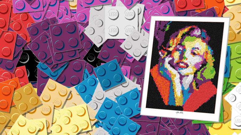 Bilder aus Legosteinen, Legokunstwerk, Legokunst, Kunst mit Legosteinen, Art of Brick, Lego Art, Legoart, Legokunst, Bilder aus Legosteinen