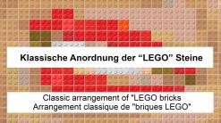 Kunst mit Lego Steinen, Lego Art, Legoart