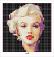 Marilyn Monroe Kunstbild Wandbild