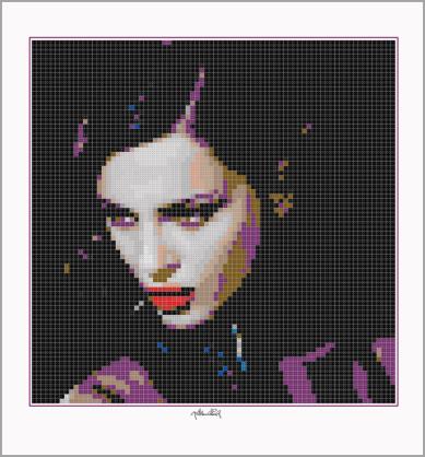 Persönliche, individuelle Portraits, Lego Art, Legoart, Legokunst, Kunst mit Legosteinen
