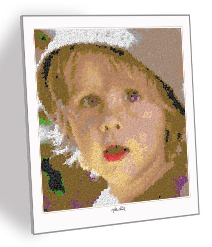 Kinderportraits, Kinderbilder, Kinderfotos,Lego Art, Legoart, Legokunst, Kunst mit Legosteinen