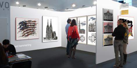 Kunstausstellung, Artfair, Kunstmesse, Köln, Shanghai, Peking