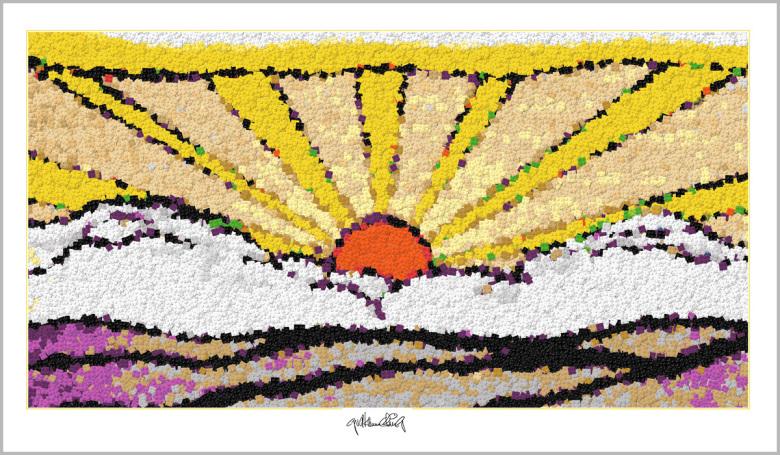 Lego Kunst Pop Art, Roy Lichtenstein, Kunst mit Legosteinen, Art of Brick, Lego Art, Legoart, Legokunst, Bilder aus Legosteinen