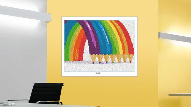 Lego Kunst, Kunstbilder aus Legosteinen, Lego Wandbild, Lego Poster, Kunst mit Legosteinen,